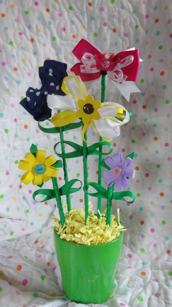 FLower Bouquet Yellow by SugarSpiceDesignCo on Etsy, $20.00