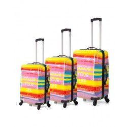 5bea305b6 Juego de maletas Benzi Color Your Life Maletas De Viaje Baratas, Juego De  Maletas,