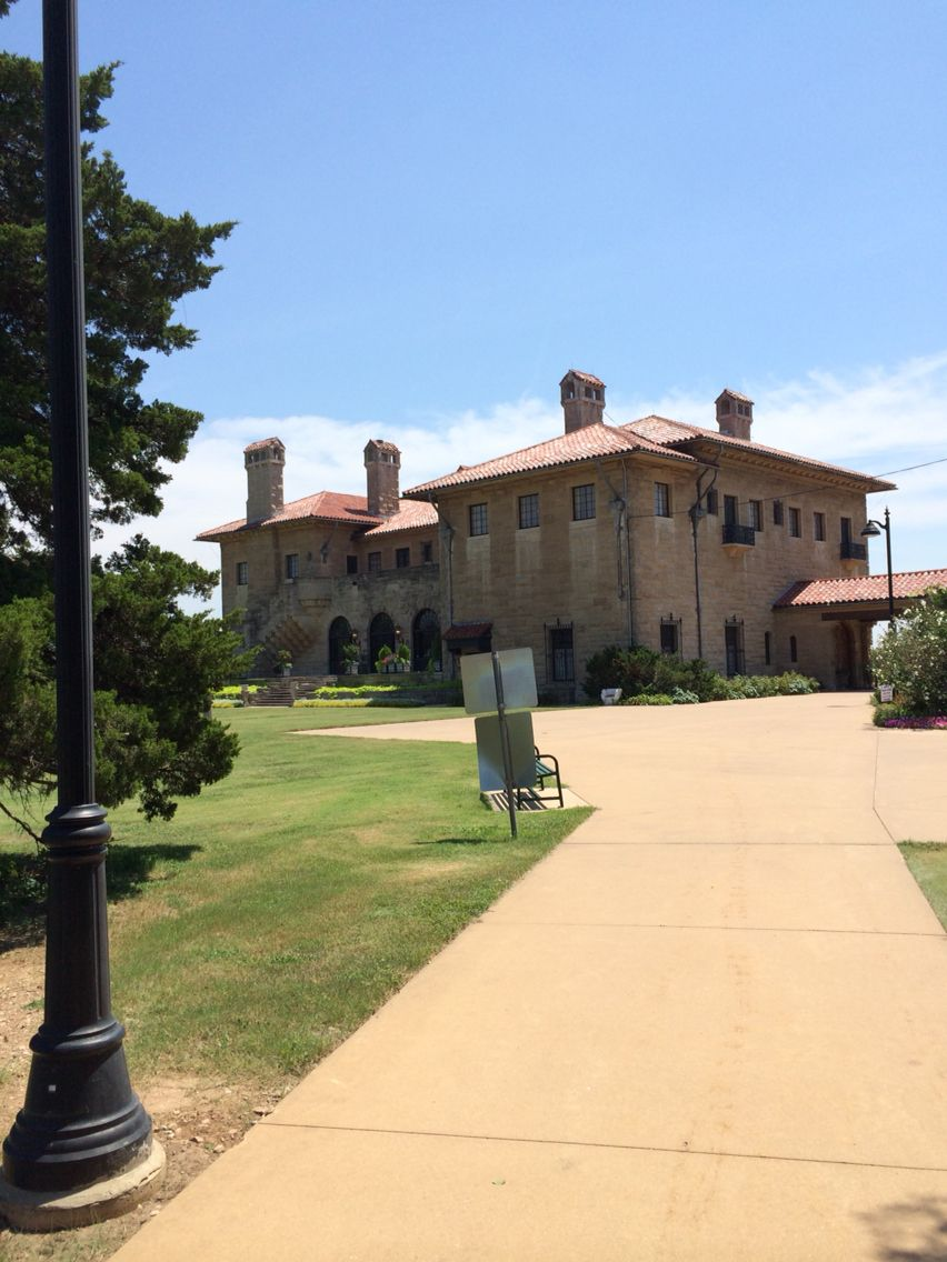 Historical adventures with Joe at the Marland Mansion in Ponca City OK.