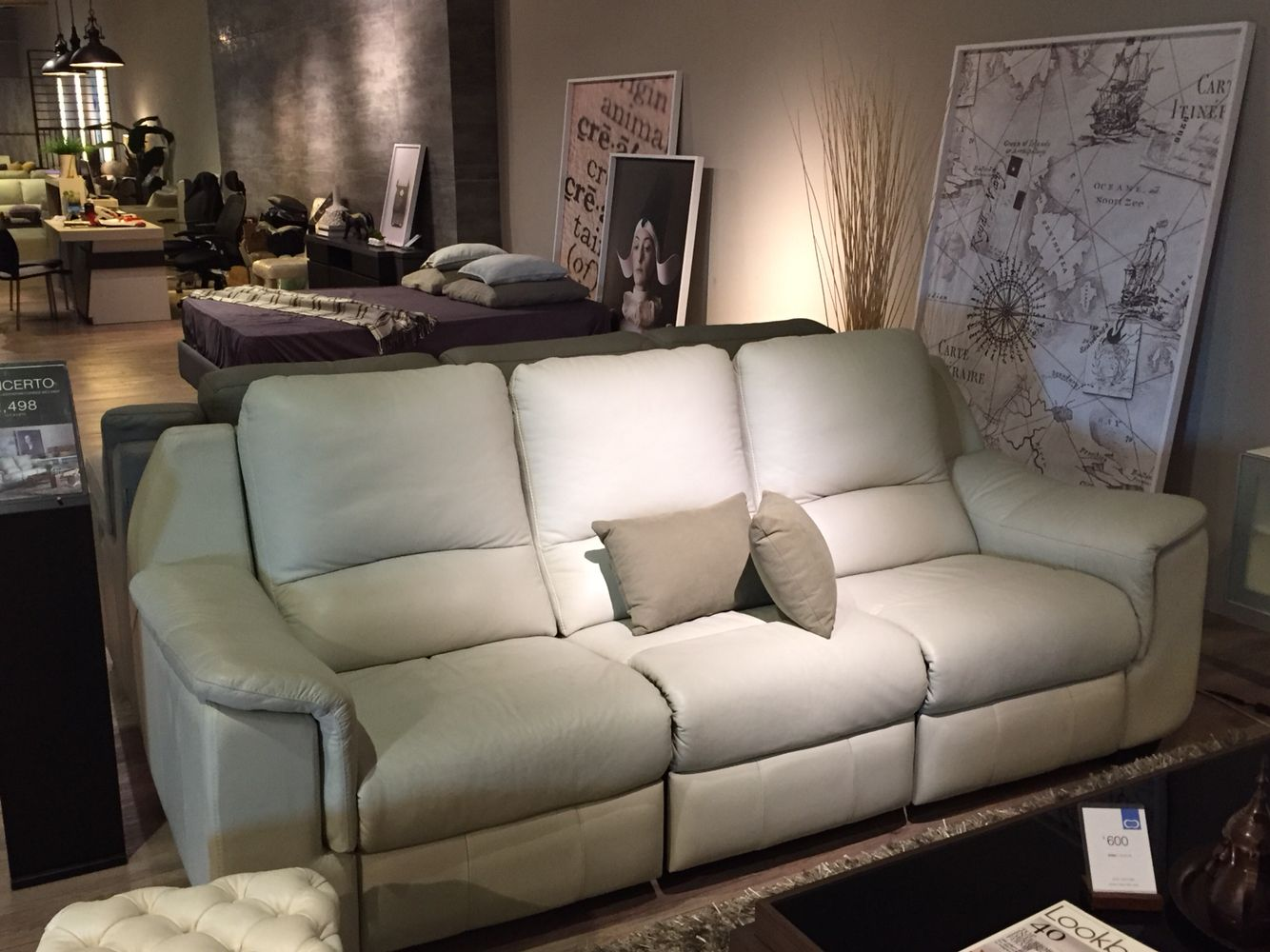 Concerto -Cellini 2 seater 1.62m Recliner Super comfortable and love the light grey & Concerto -Cellini 2 seater 1.62m Recliner Super comfortable and ... islam-shia.org