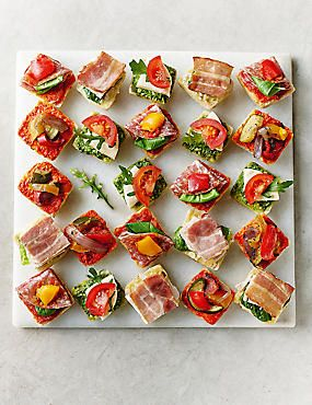 Antipasti mini canap selection 24 pieces cafe and food ideas shop our fantastic range of picnic food online today a great selection of sandwich platters chicken drumsticks and more forumfinder Image collections