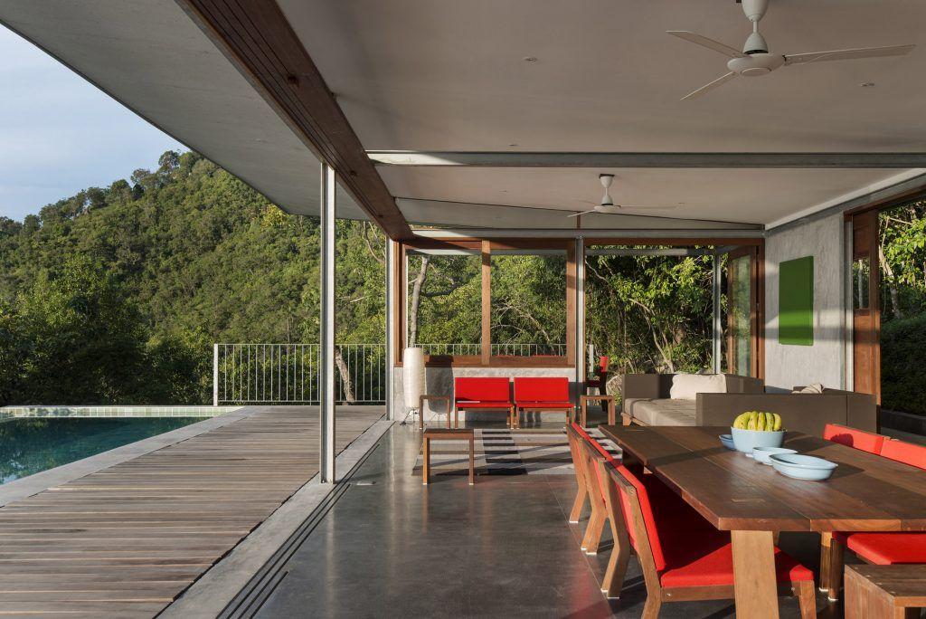 Naked House - Marc Gerritsen living room Modern-Modernist Houses - plan de maison moderne 3d