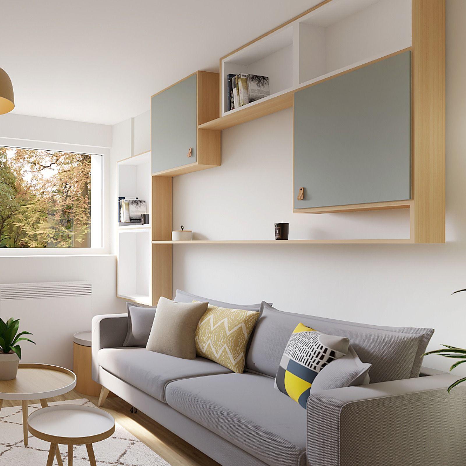 Studio : 8 astuces de rangements pour optimiser les espaces ...
