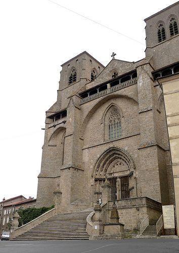 Abbatiale St Robert La Chaise Dieu Haute Loire France France Visiting Landmarks