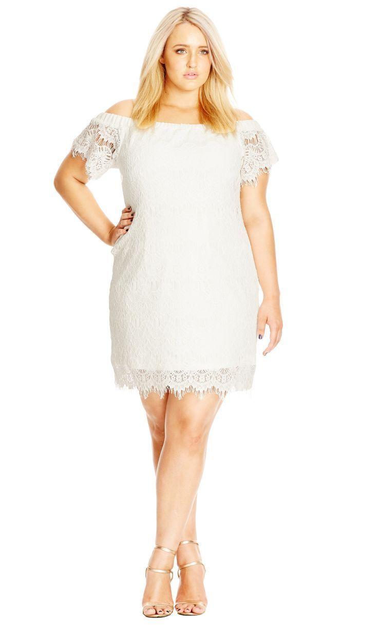 a891c77504 12 Plus Size White Party Dresses - Plus Size Bachelorette Party Dresses - Plus  Size Bridal Shower Dresses - alexawebb.com