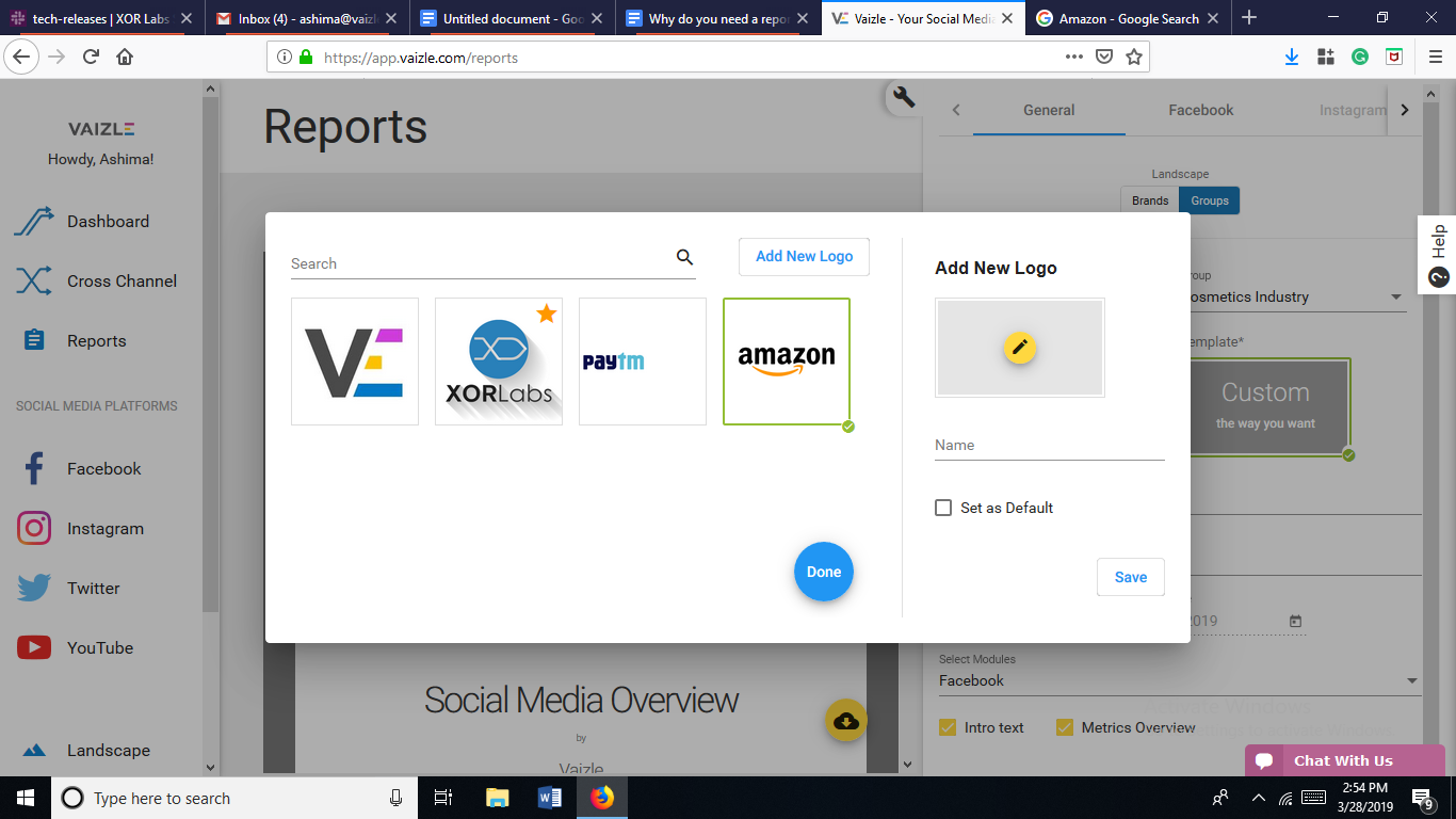 Why You Need A Social Media Report Builder And Not A Reporting Tool
