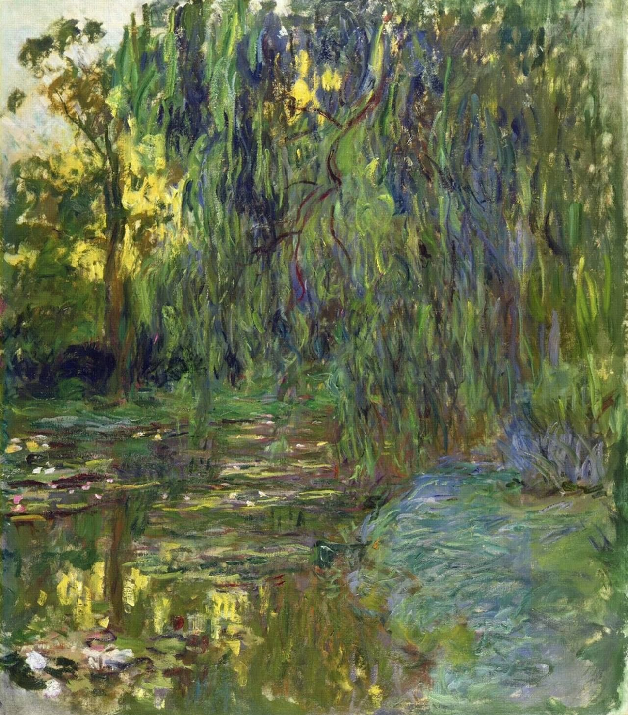 Weeping Willow and Waterlily Pond, Claude monet, s.d. | Claude monet, Monet  oil paintings, Monet water lilies