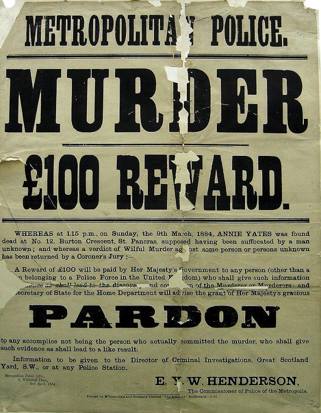 Step inside Scotland Yardu0027s u0027Black Museumu0027 Black museum - criminal wanted poster