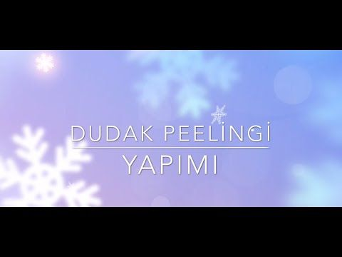 DIY | Evde Dudak Peelingi Yapımı-Homemade Lip Scrub