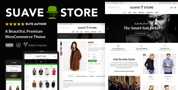Themeforest WordPress – Suave – Multi-Purpose WooCommerce Theme on ...