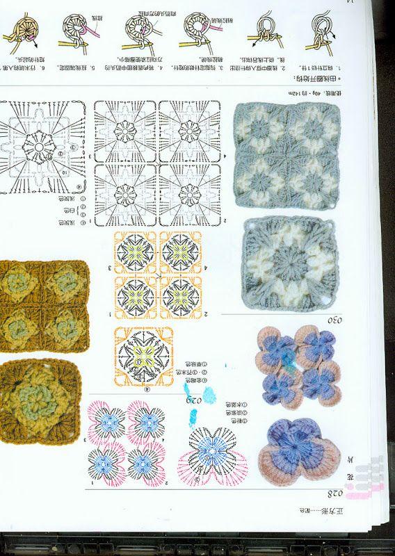 crochet japones - Annie Mendoza - Picasa Web Albums | Bricolaje y ...