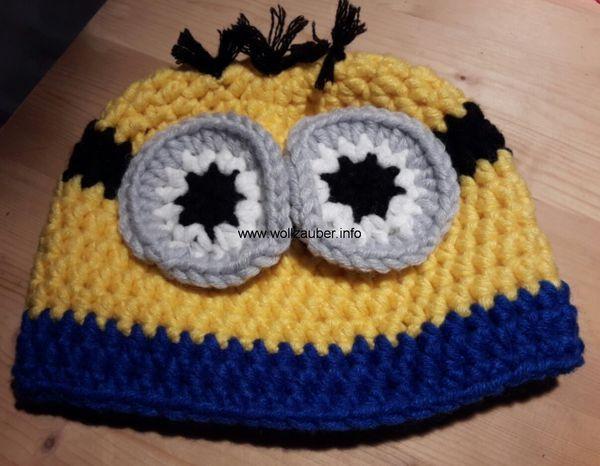 Wintermütze in Größe S // M und L (Minion) | Minions | Pinterest ...
