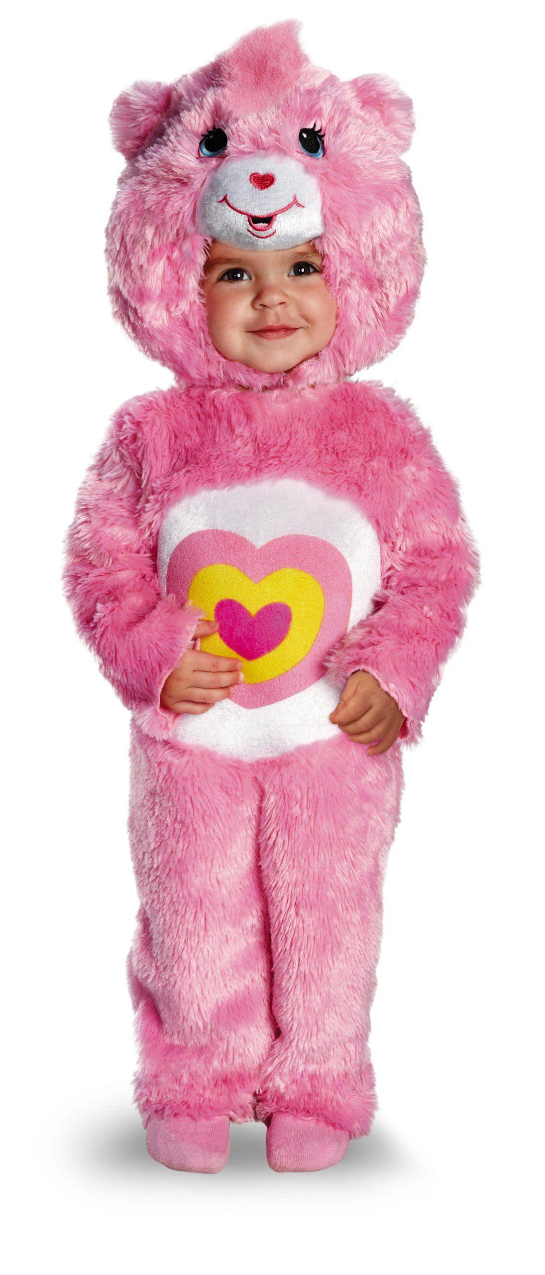 e0eed692bbac0 Amazon.com: Disguise Baby Girl's Care Bears Wonderheart Bear Deluxe ...