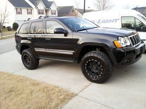 Pics Of My Lifted Wk Before And After Jeepforum Com Jeep Grand