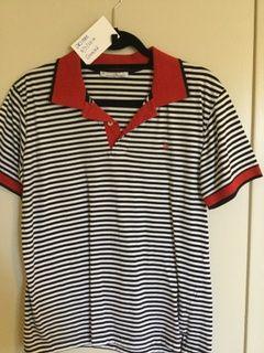 5d3d871eb Carolina Herrera Stripped polo | ooh! | Mens tops, Polo, Clothes