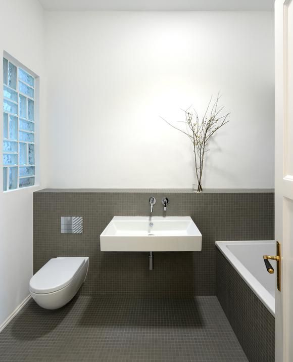 bad-grau-weiss-55a143e9634e8jpg (580×716) Badezimmer - badezimmer beige grau wei