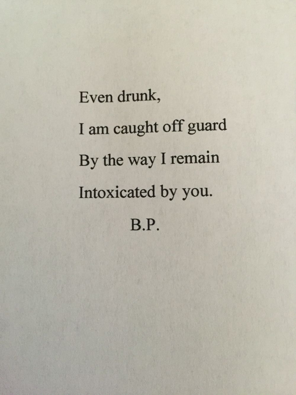even drunk i am caught off guard by the way i remain intoxicated by you secret love affair quotes