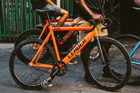 Santa Fixie Koop Een Leader 721 2016 Frame Oranje Voor Fixie