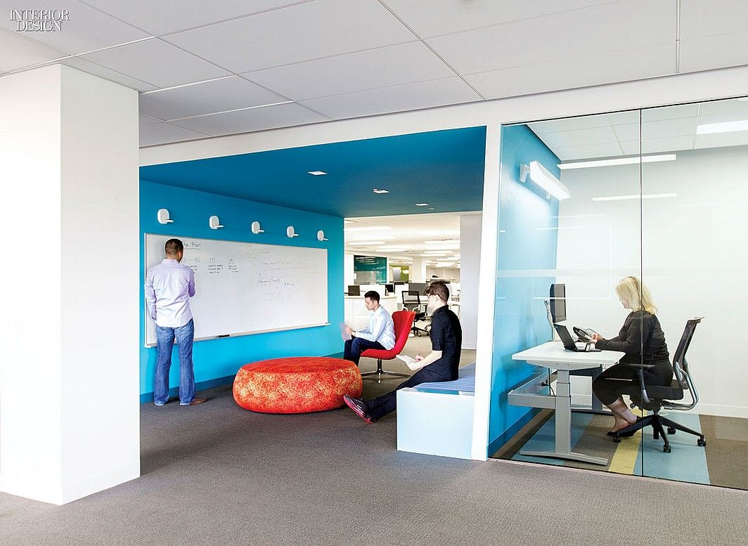 How tomorrow works 5 offices for tech companies for Office design works