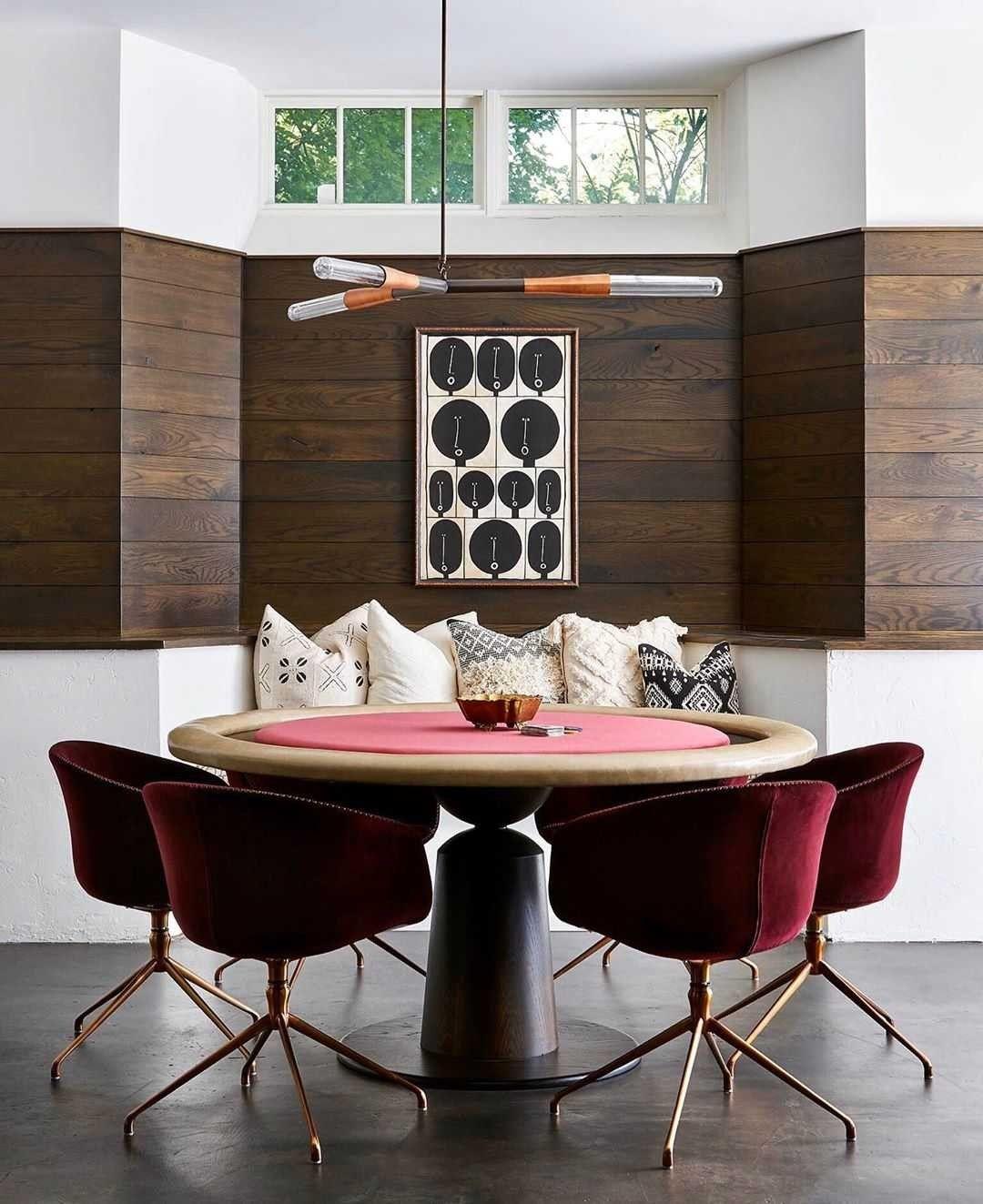 Jen Talbot Design Custom poker tables, Game room design