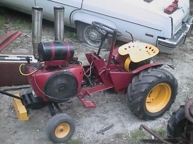 Diesel Garden Tractor Pulling Garden Pulling Tractor Mini Rod