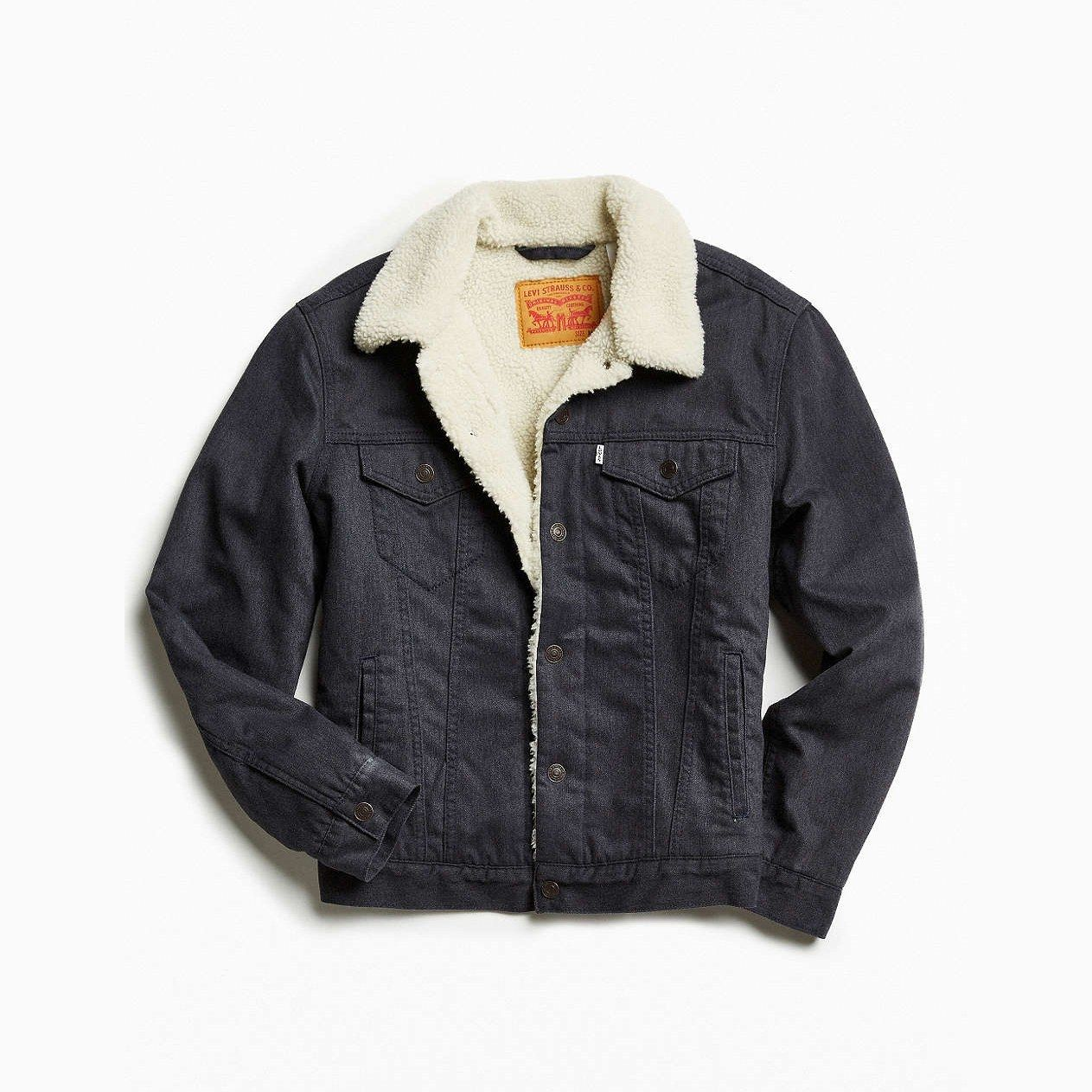 The One Transitional Jacket You Re Going To See Everywhere This Spring Trucker Jacket Carhartt Denim Jacket Jackets [ 1263 x 1263 Pixel ]