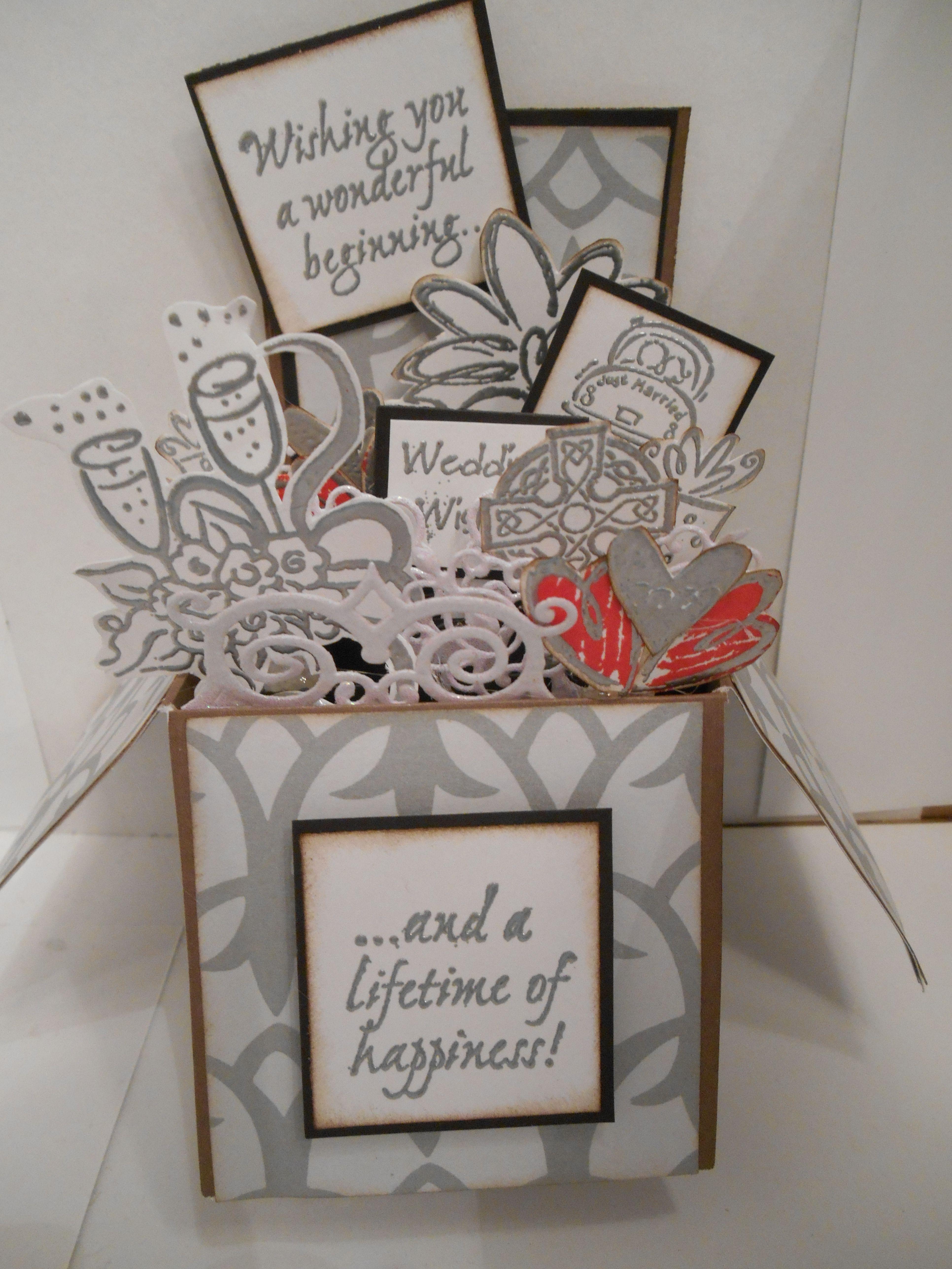 44++ Pop up wedding cards ideas