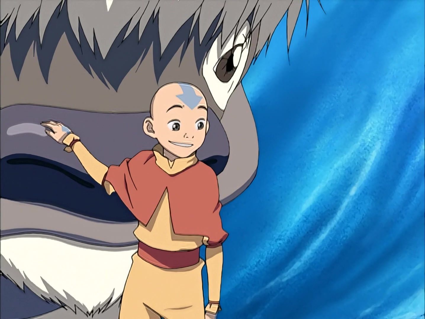 Aang Telling Sokka Not To Worry As Appa S Snot Will Wash Out Di 2020