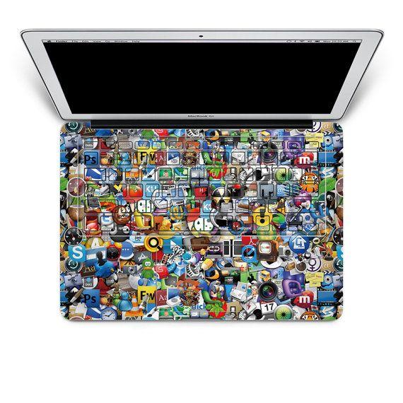 Macbook Keyboard Decal Apple Macbook Pro  Decal Keyboard Sticker - Macbook air decals