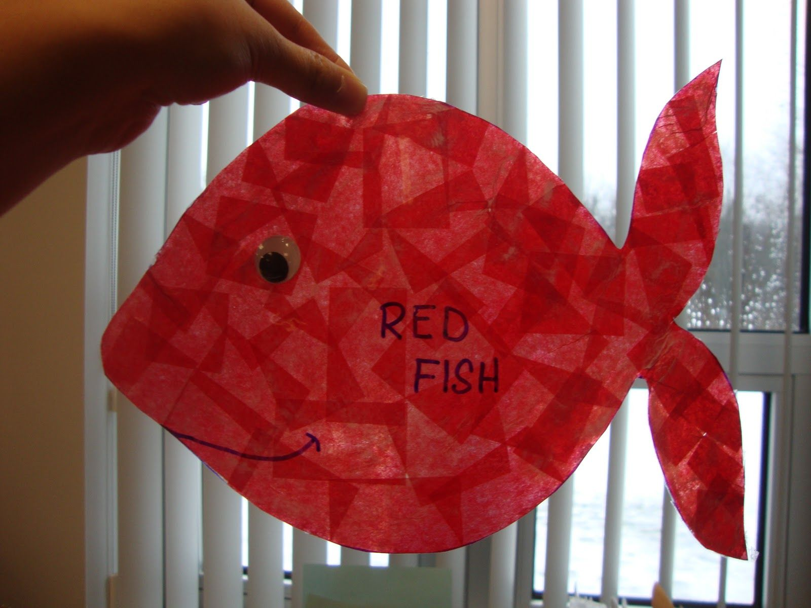 Art. Paper. Scissors. Glue!: One Fish, Two Fish | dr suess ...