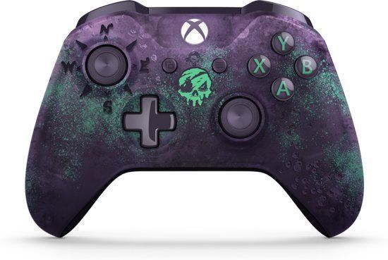 Xbox One S Draadloze Controller Limited Edition Sea Of Thieves Controle Xbox Controle De Jogo Controle Video Game
