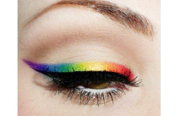 Photo of Rainbow eyeliner