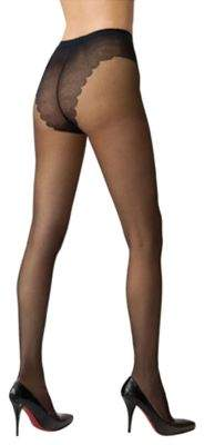 f7694d53c6f70 Hue French Lace Sheer Control Top Hosiery | Products | Hosiery ...