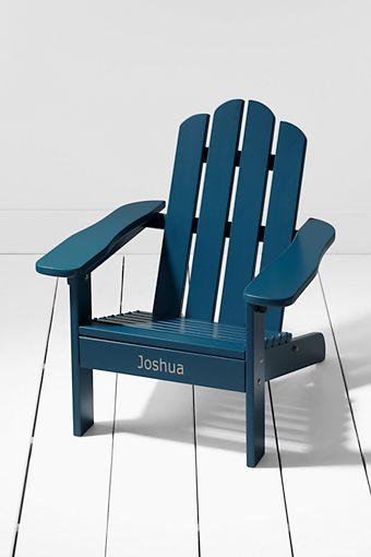 124254fef3 Kids' Painted Adirondack Chair from Lands' End- for Nate | It's in ...