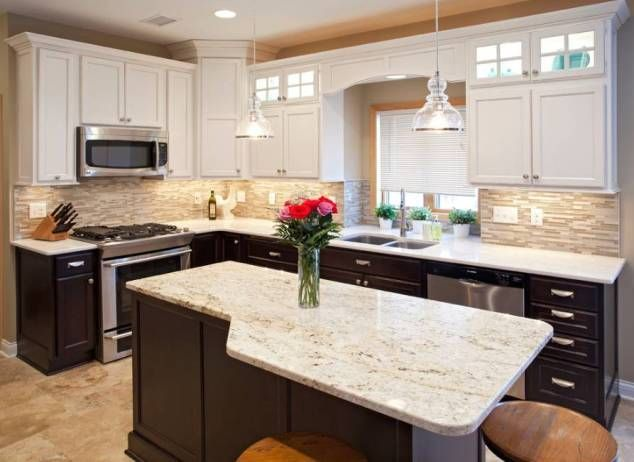 Two Tone Kitchen Cabinet Design Ideas Kitchen Cabinets Design Ideas