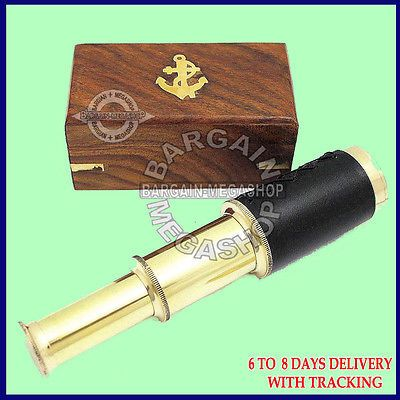 "Christmas #gifts for boyfriend 6"" #nautical marine solid brass #spyglass telescop,  View more on the LINK: 	http://www.zeppy.io/product/gb/2/181918377324/"