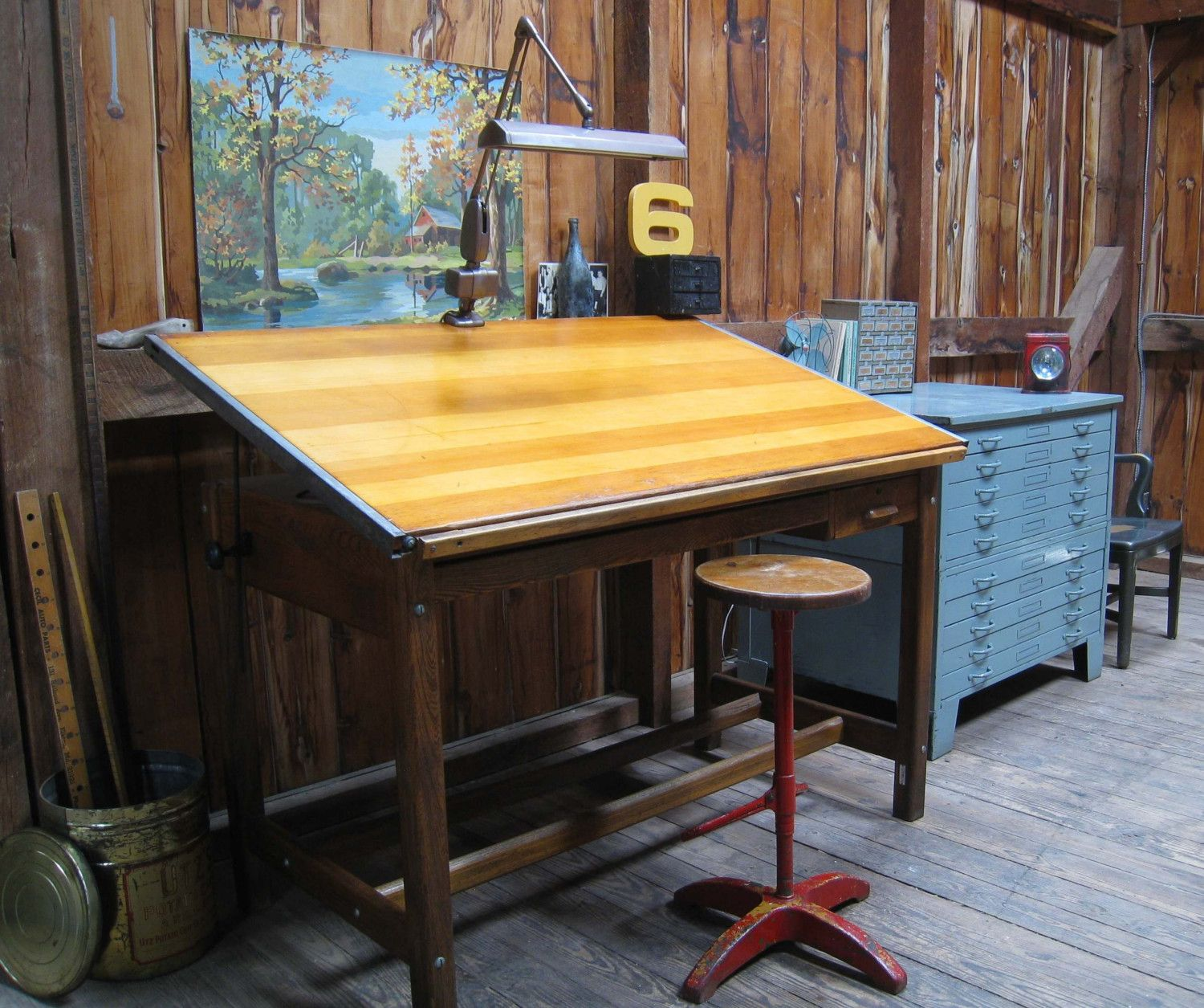 antique drafting tables made of oak - Project Idea Submissions » Rogue EngineerProject Idea Submissions