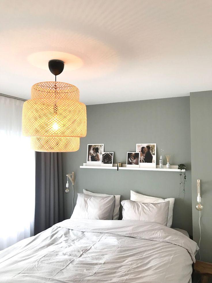 Schlafzimmer Innenansicht bei Casaleander Wohnung