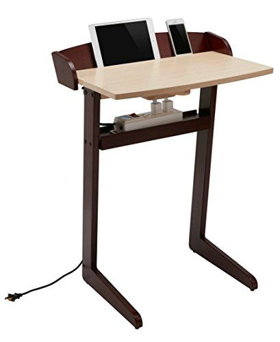 Computer Desk For Small Es Sofa Side Table Laptop Stand Portable From Deskio