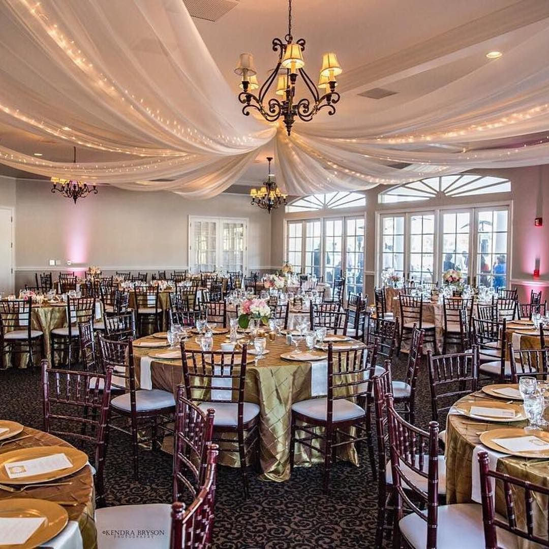 Wedding Ideas With A Difference: Draping Can Make All The Difference Like In This Gorgeous