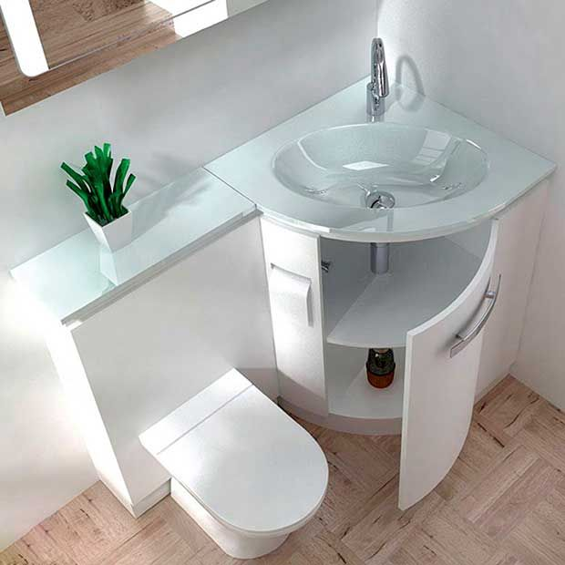 Exceptionnel Built In Sink And Vanity Unit