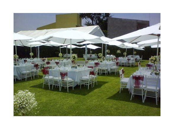 Montaje de boda en jard n decoraci n para boda - Decoracion jardin boda ...