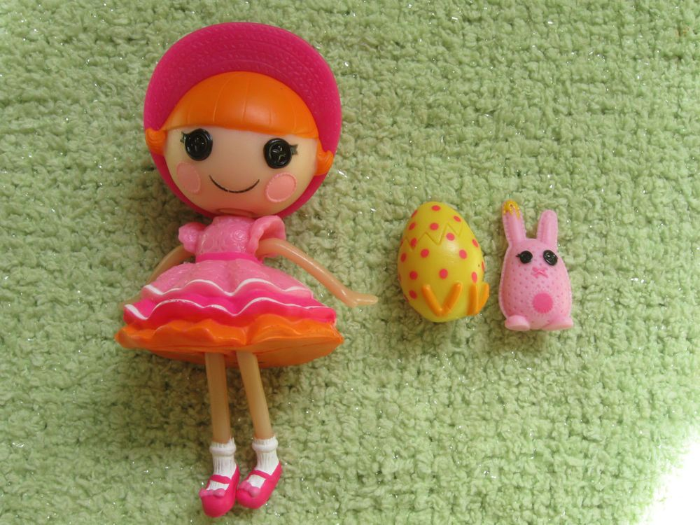 LALALOOPSY EASTER Mini Doll SPROUTS SUNSHINE Target Exclusive SPRING 2012 Bunny #MGA