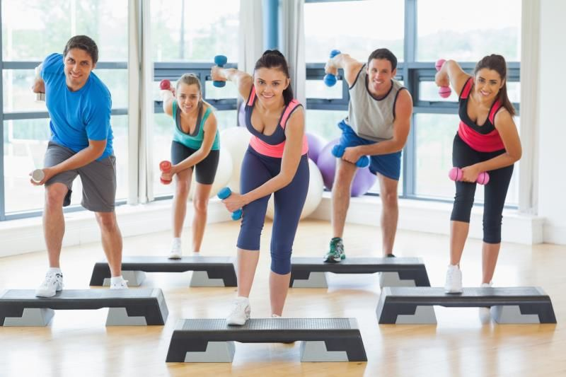 Toning Exercises Using A Step Step Workout Toning Workouts