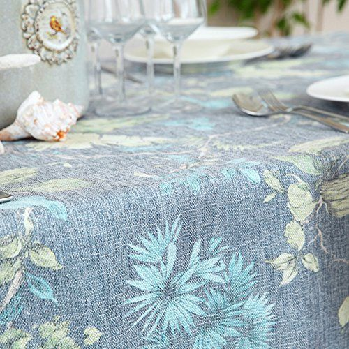 Cotton And Linen Printing Tablecloth Gray Washable Dinner Picnic Table Cloth  Home Decoration A 140x200cm(55x79inch) | Outdoor Dining | Pinterest | Picnic  ...