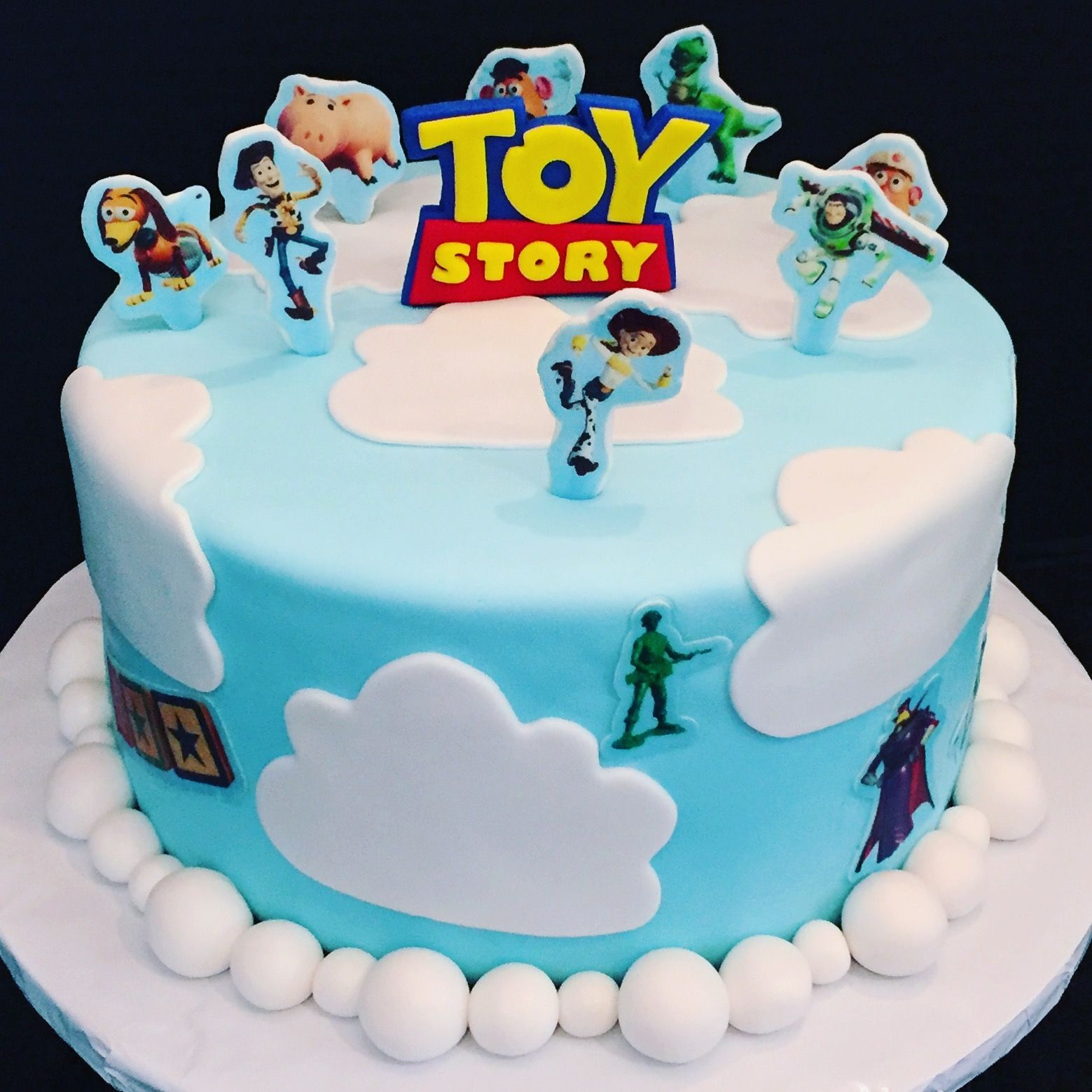 Toy Story Edible Icing Decor for Cakes