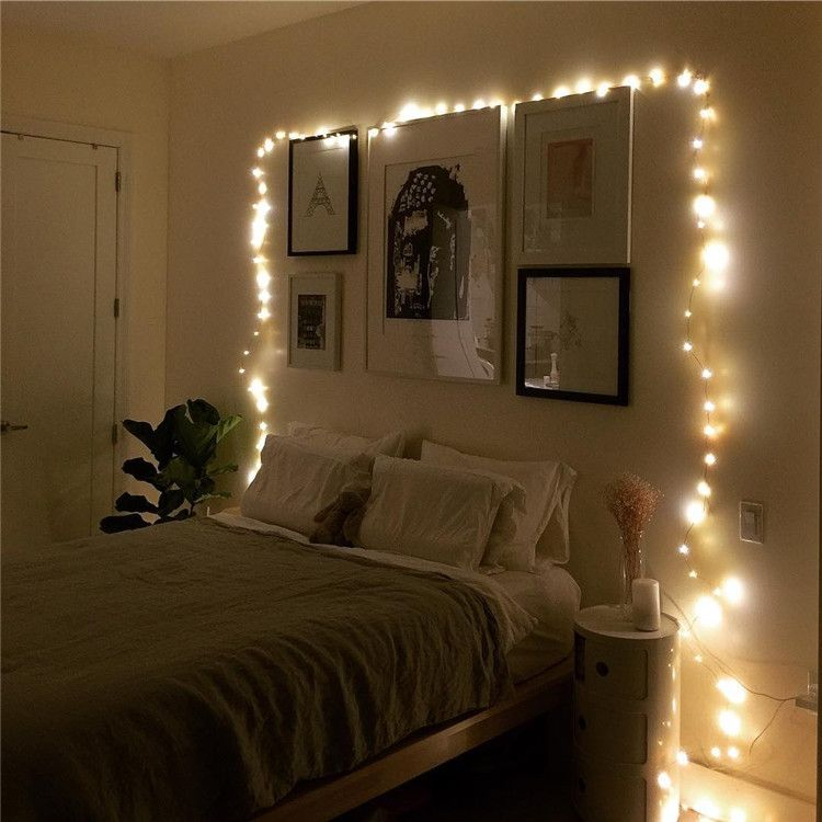 Pack Of 3 Sets Timer Fairy Lights Battery Operated Diy Etsy In 2020 Home Decor Bedroom Bedroom Diy Bedroom Design