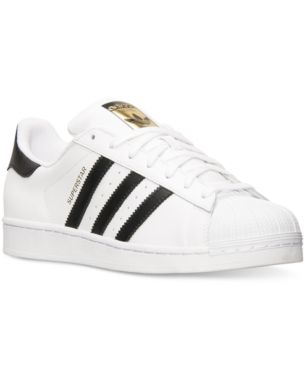 pick up 01b2a 272b3 adidas Men s Superstar Casual Sneakers from Finish Line - White 9