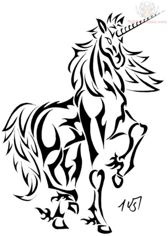 1399764363 Img 1147 Jpg Unicorn Tattoos Tribal Animal Tattoos Unicorn Tattoo Designs