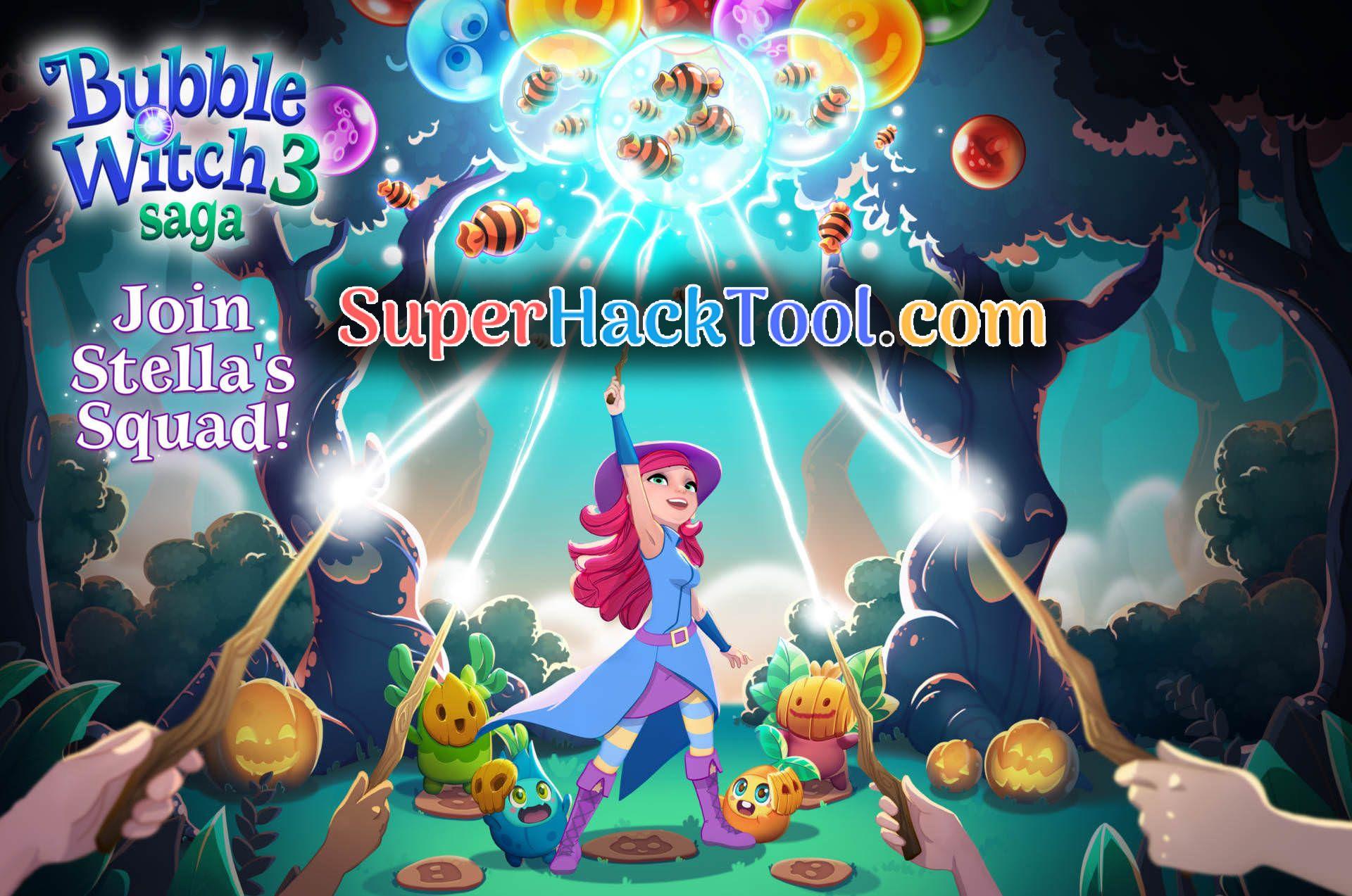 [No Survey] Bubble Witch 3 Saga Hack Get Free Gold Bars
